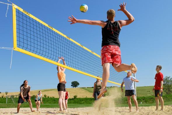 Inizia il beach volley al centro sportivo dream - Campi da pallavolo gratis stampabili ...